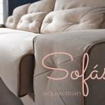 Cómo limpiar las manchas en un sofá de tela