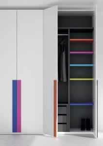 Interior de armario personalizado