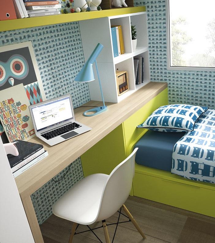 Gu a para elegir el dormitorio juvenil escritorios for Mesa escritorio infantil