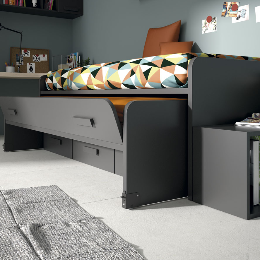 Gu a para elegir el dormitorio juvenil blog - Cama juvenil compacta ...