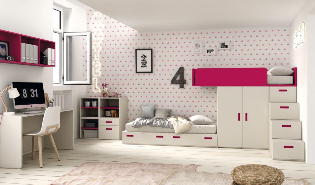 Gu a para elegir el dormitorio juvenil blog - Cama tren juvenil ...