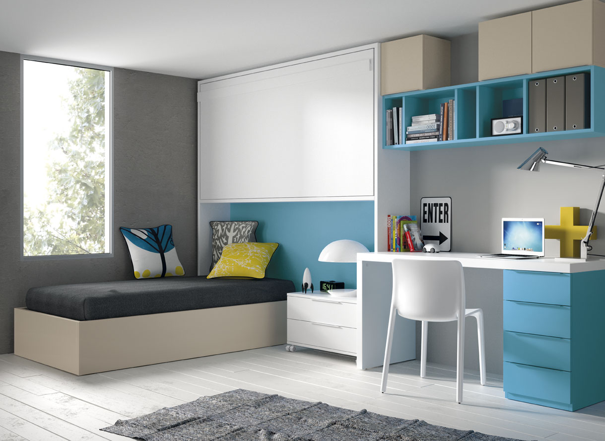 Guía para elegir el dormitorio juvenil: Escritorios