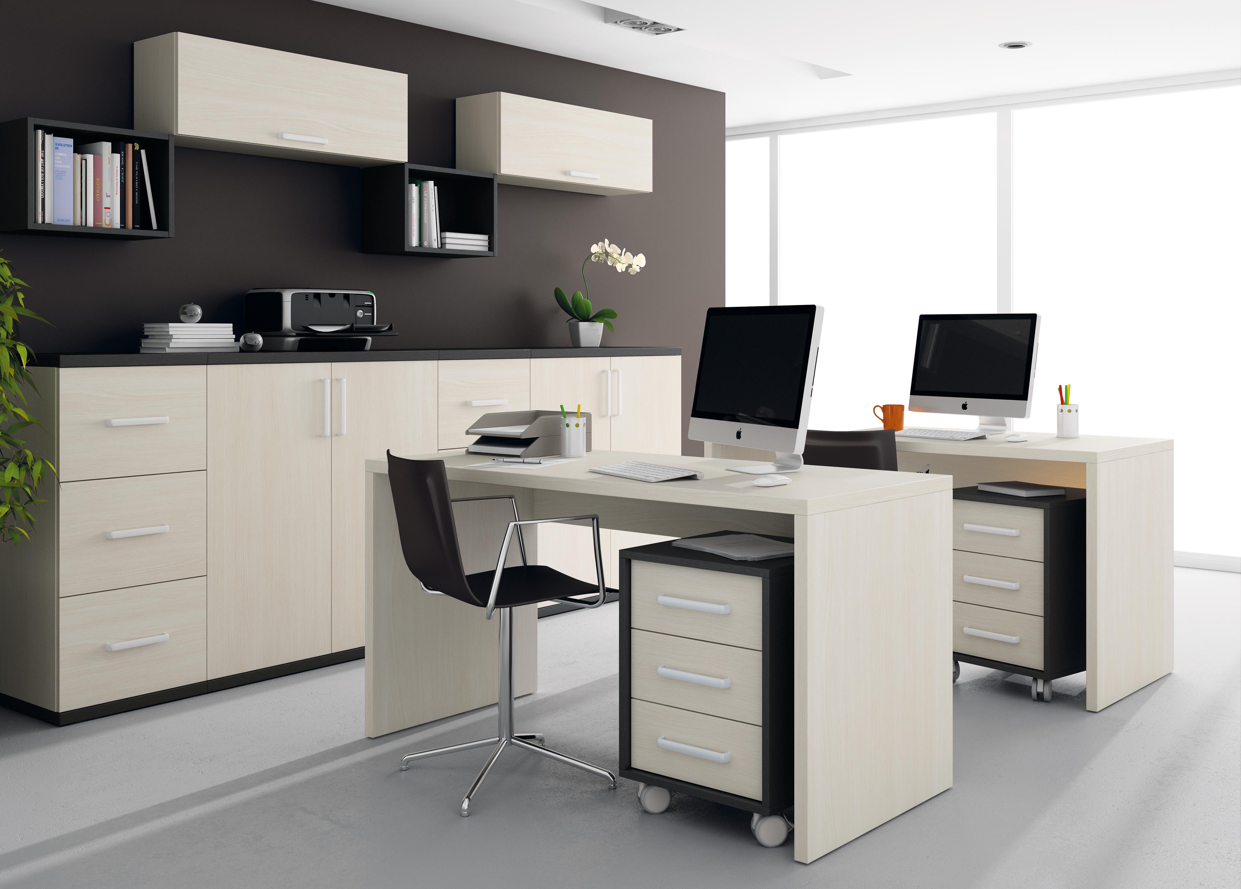 Gu a para elegir el dormitorio juvenil escritorios for Muebles modernos para oficinas pequenas
