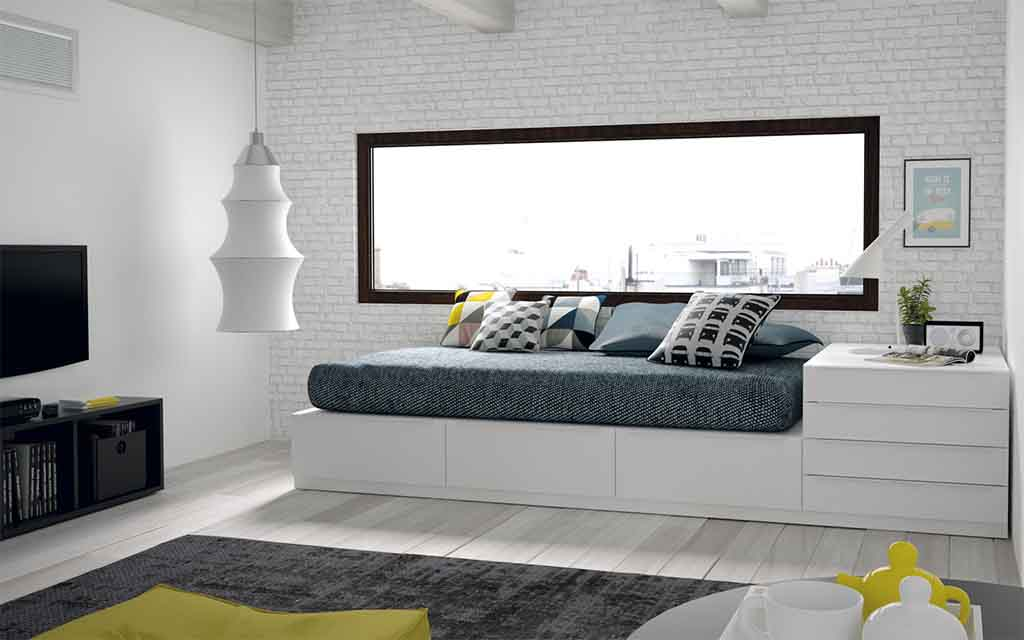 Gu a para elegir el dormitorio juvenil la cama for Papel pintado para el dormitorio adulto moderno