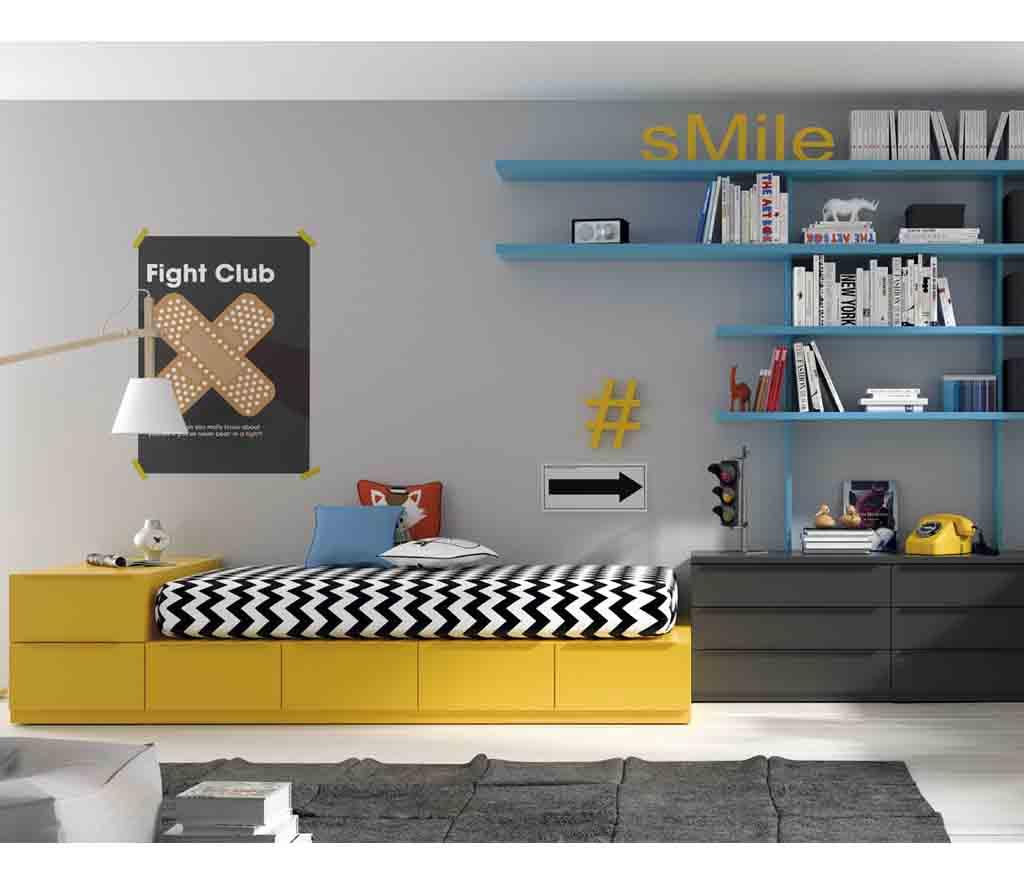 Gu A Para Elegir El Dormitorio Juvenil La Cama # Muebles Leandro