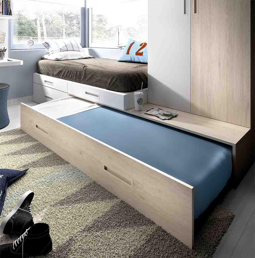 Gu a para elegir el dormitorio juvenil la cama for Cama abierta