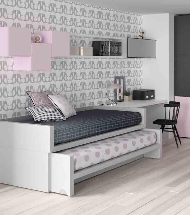 Gu a para elegir el dormitorio juvenil la cama - Modelos de camas nido para ninos ...