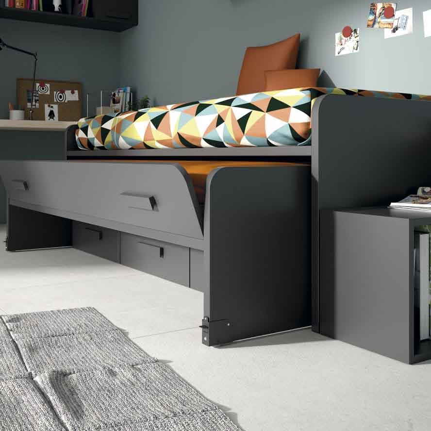 Gu a para elegir el dormitorio juvenil la cama for Estructura cama nido 105