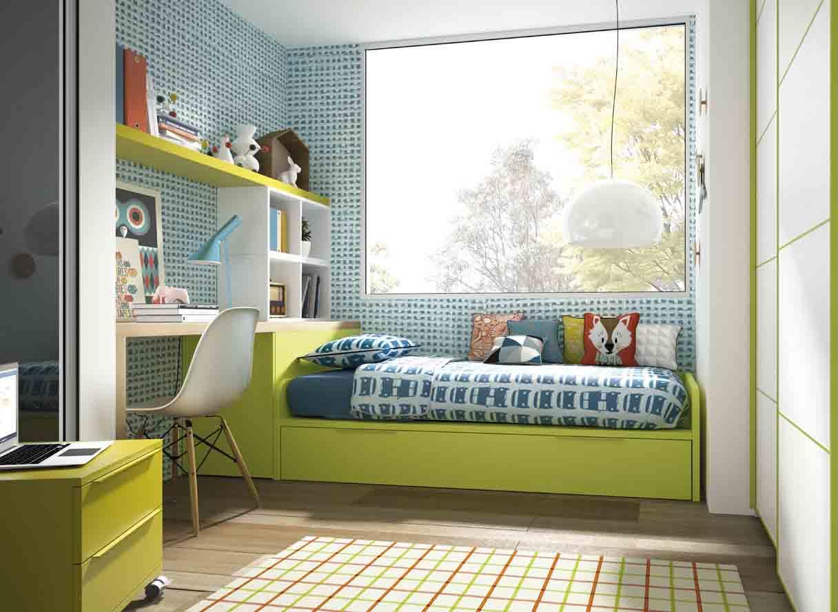 Gu a para elegir el dormitorio juvenil la cama - Dormitorios infantiles dobles ...