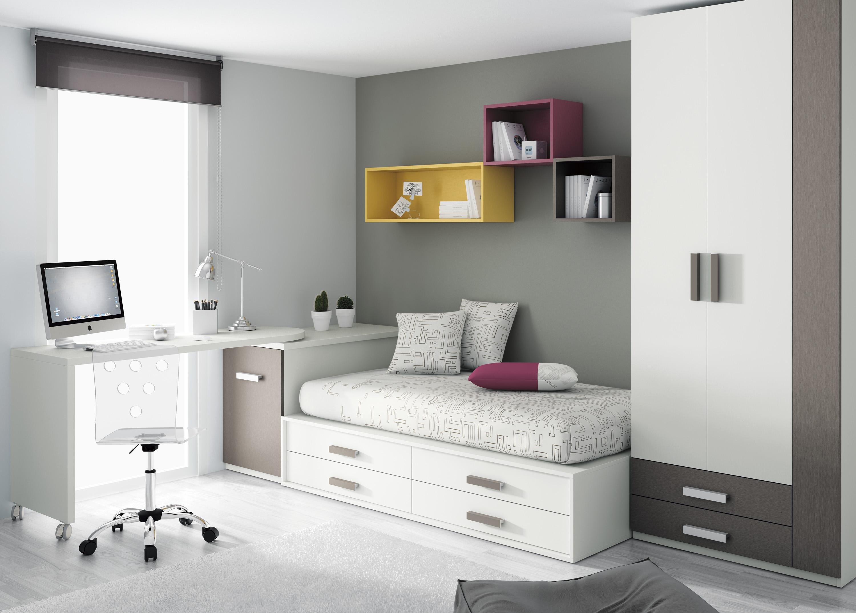 Gu a para elegir el dormitorio juvenil escritorios - Mesas para dormitorio ...