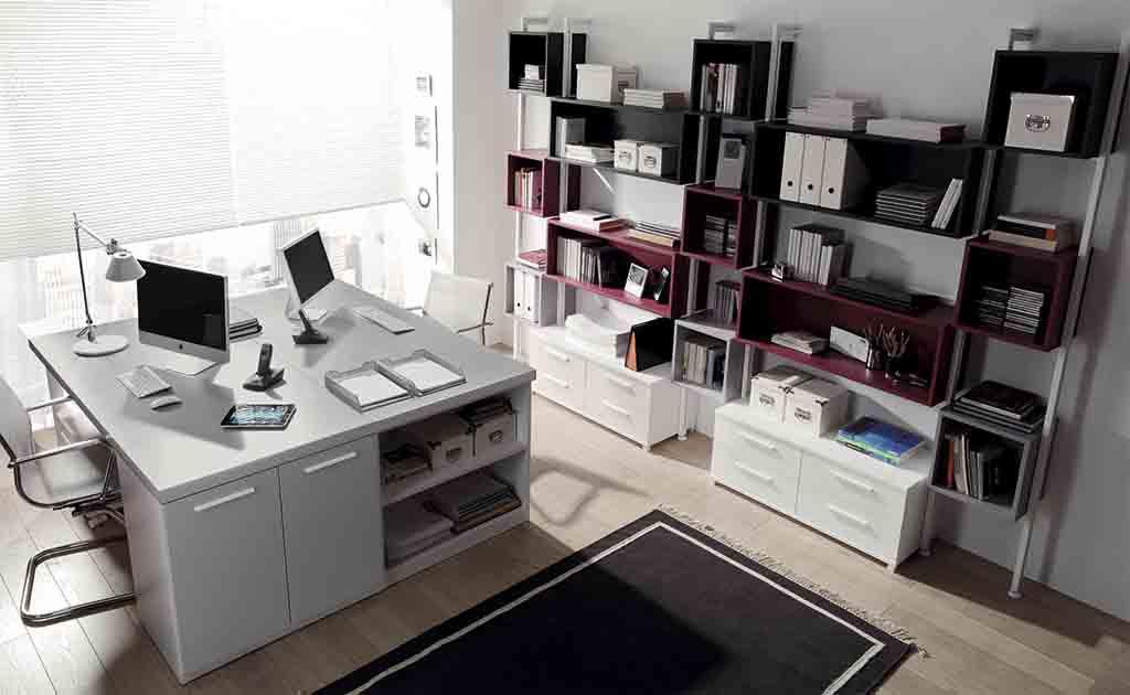 Gu a para elegir el dormitorio juvenil estanter as for Despacho moderno casa