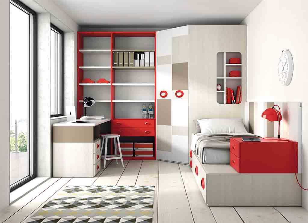 Gu a para elegir el dormitorio juvenil estanter as - Estanterias juveniles ...