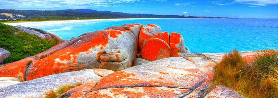 Bahía de los Fuegos, Tasmania