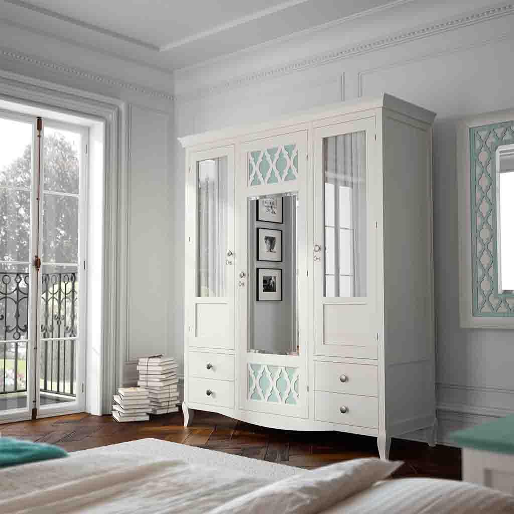 Tus armarios roperos son un caos soluciones para for Cortinas para puertas de armarios