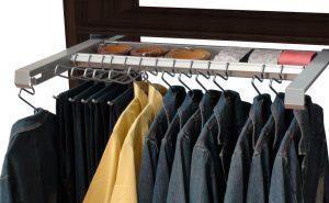 Pantalonero camisero extraible con bandeja multiusos horizontal