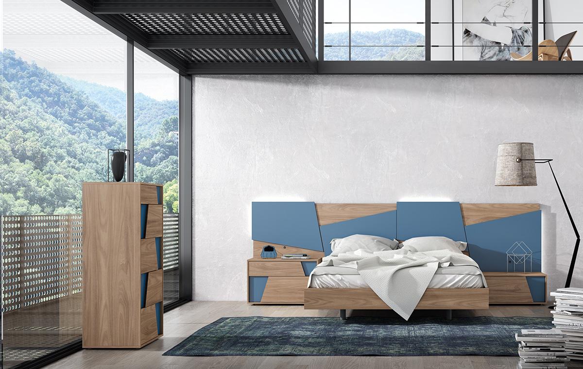 Dormitorio de Mesegue