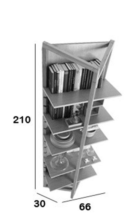 Medidas estantería Tree Book