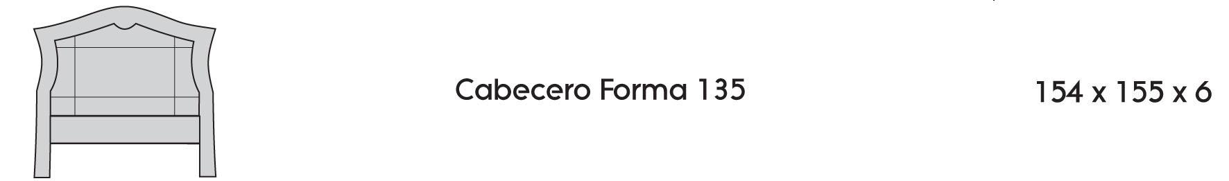 Cabecero Forma