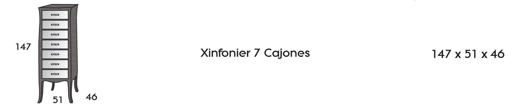 Sinfonier 7 cajones