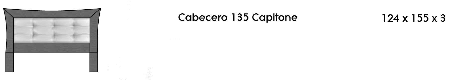 Cabecero 135 Capitoné