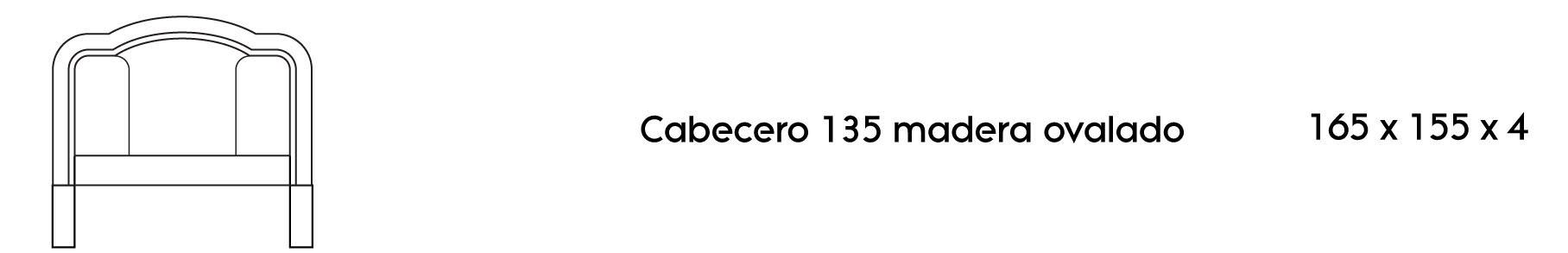 Cabecero Ovalado