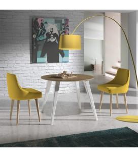 Mesa de comedor redonda modelo WA 297