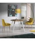 Mesa de comedor redonda modelo WA 297 de ALMOSA