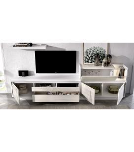 Ambiente de comedor modelo Duo 01 estilo moderno