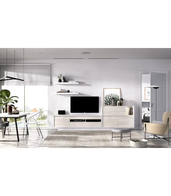 Ambiente de comedor modelo Duo 01 estilo moderno de Rimobel
