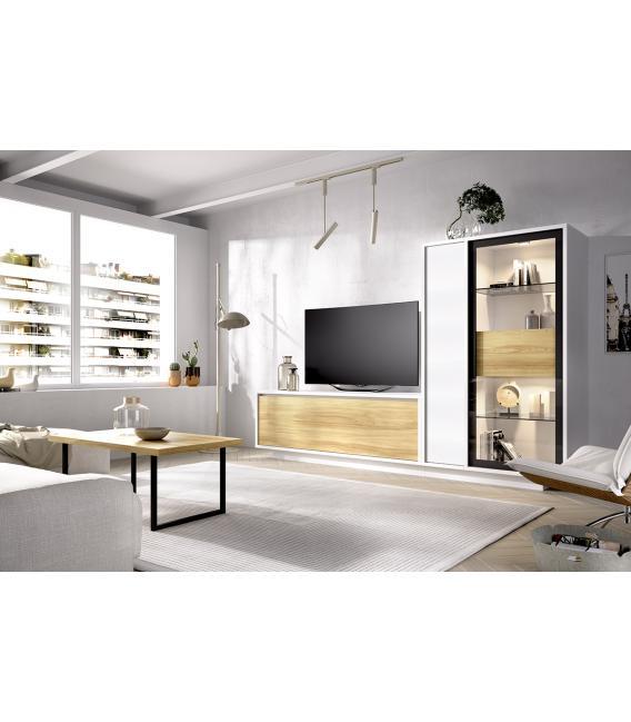 Ambiente de comedor modelo Duo 02 estilo moderno de Rimobel