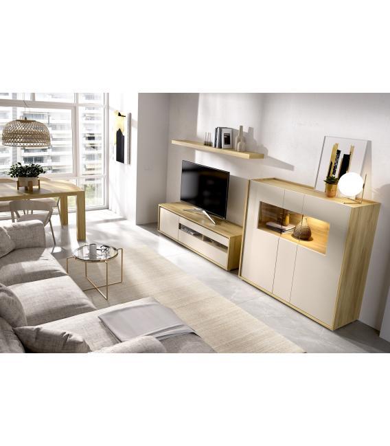 Ambiente de comedor modelo Duo 03 estilo moderno de Rimobel