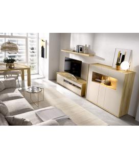 Ambiente de comedor modelo Duo 03 estilo moderno