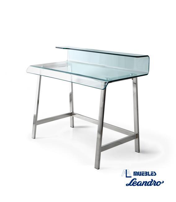 escritorio de cristal