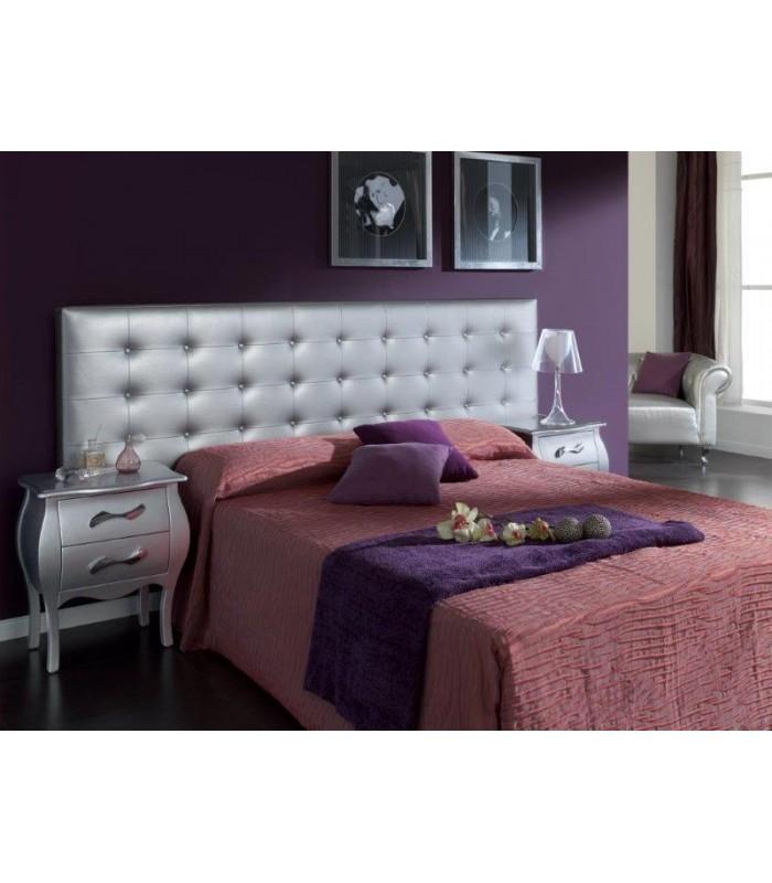 Cabecero colgado tapizado capiton modelo eva de dugar home - Cabeceros de cama capitone ...