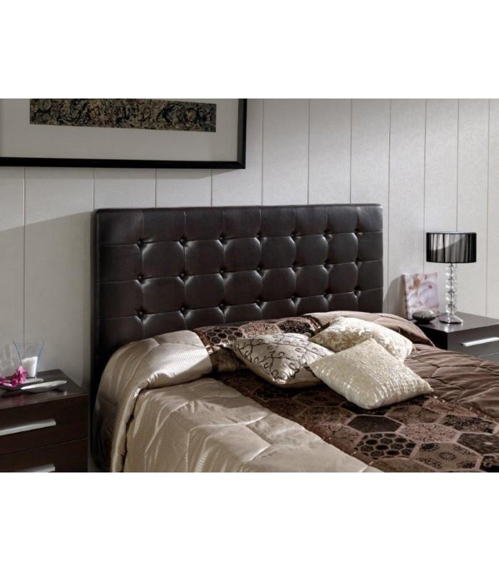 Cabecero tapizado capiton modelo eva de dugahome - Cabeceros de cama capitone ...
