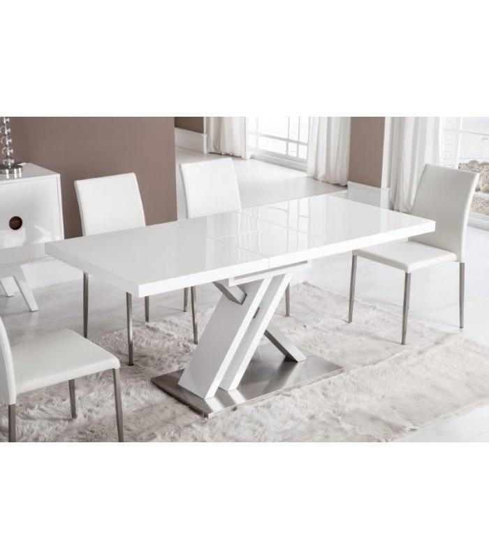 Mesa de comedor extensible modelo dorian de dugar home - Comoda mesa extensible ...