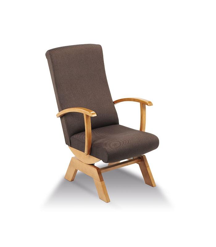 Sill n balanc n modelo 8 de tapizados boro - Sillon balancin madera ...