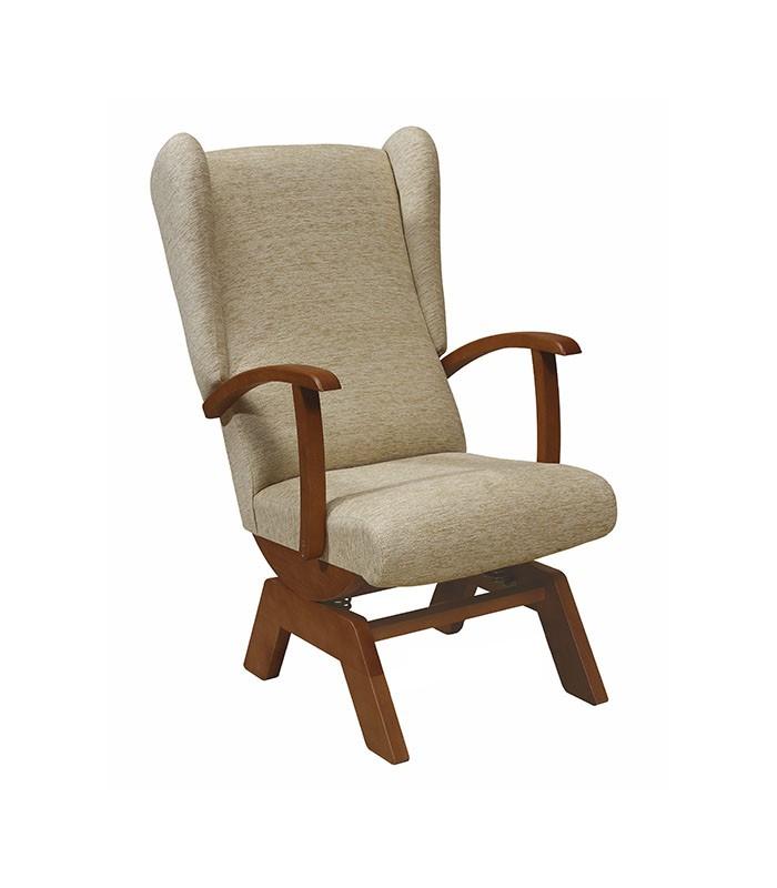 Sill n balanc n modelo 12 de tapizados boro - Sillon balancin madera ...
