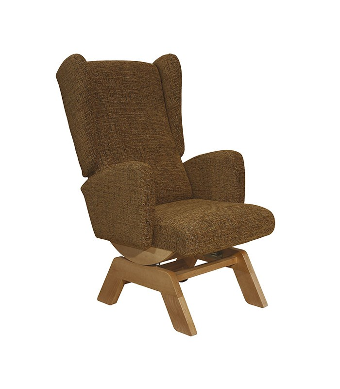 Sill n balanc n modelo 15 de tapizados boro - Sillon balancin madera ...