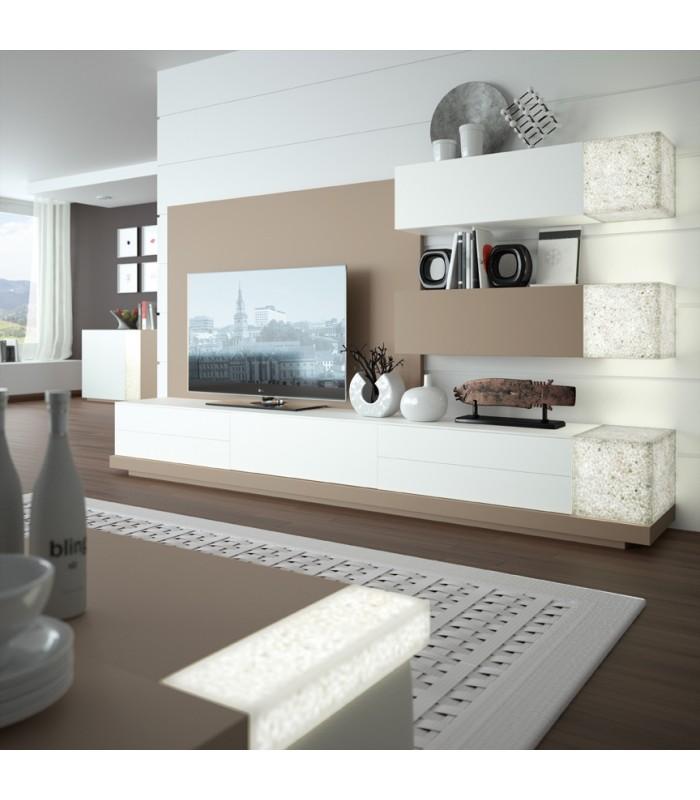 Ambiente sal n moderno ortus 05 de zafra for Muebles en zafra