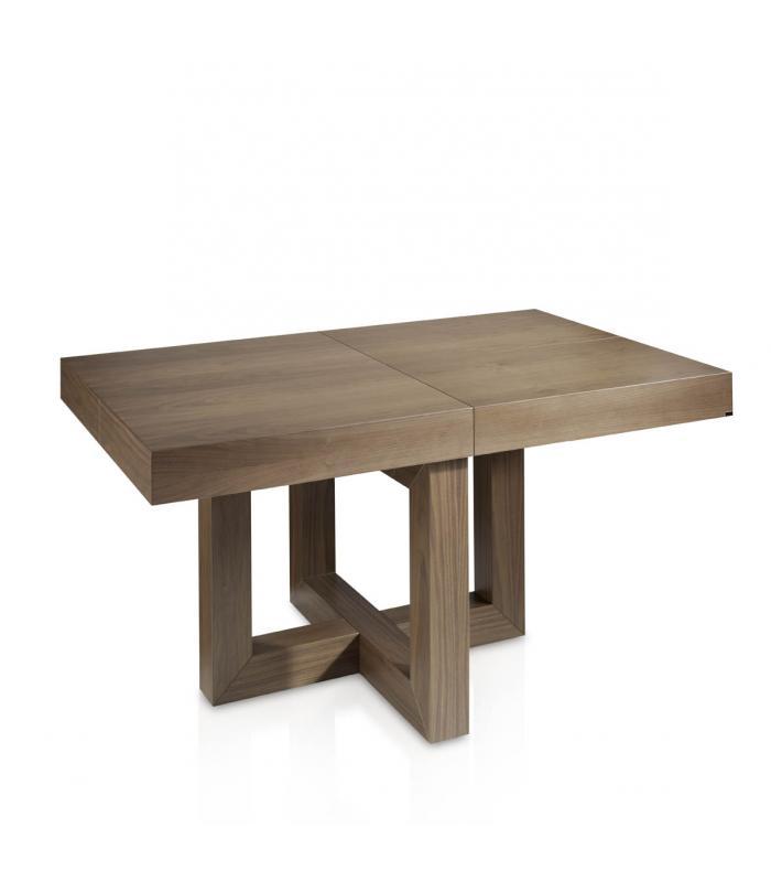 Mesa de comedor extensible modelo 293 de almosa - Mesa de comedor plegable extensible ...