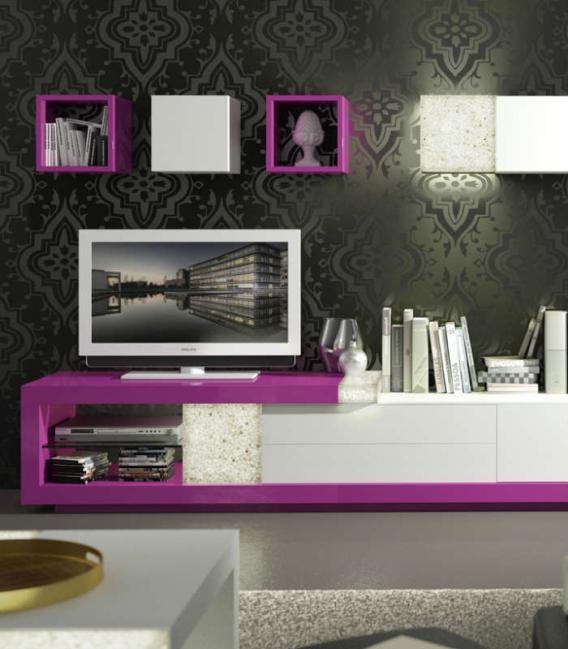 Mueble de salón moderno ORTUS 04 de ZAFRA