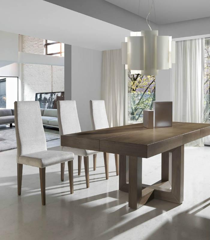 Mesa de comedor extensible modelo 293 de almosa for Muebles de comedor mesas