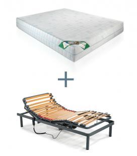 Pack colchón Visco 2 y somier eléctrico de DELANUBBI