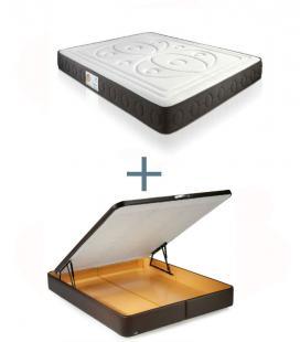 Pack colchón Viscosol, canapé 3D o supreme y patas DELANUBBI