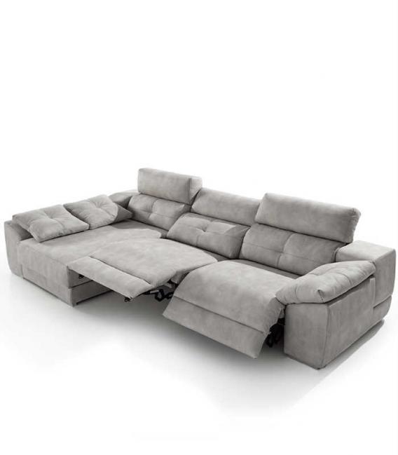 Sofá Chaise longue relax modelo MEMORY de ACOMODEL