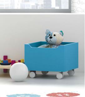 Caja para juguetes modelo TREN