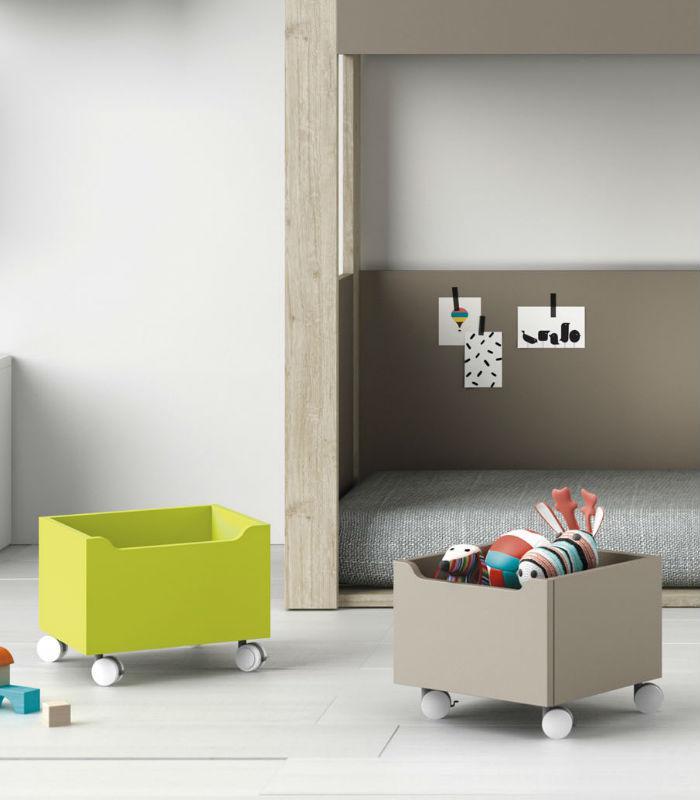 Caja para juguetes modelo tren de tegar mobel - Muebles infantiles y juveniles ...