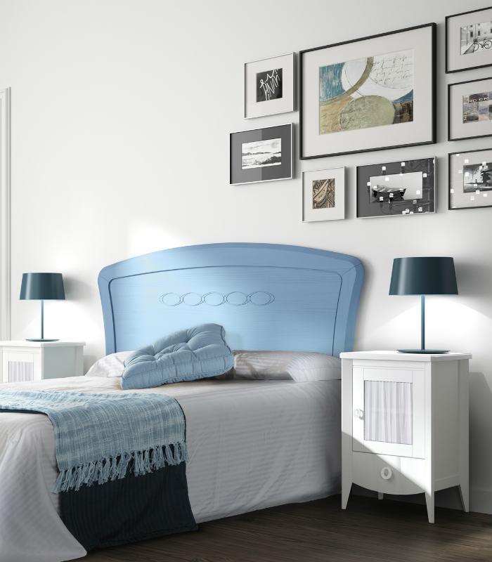 Cabecero juvenil modelo cloe de elizana for Cabeceros cama juvenil