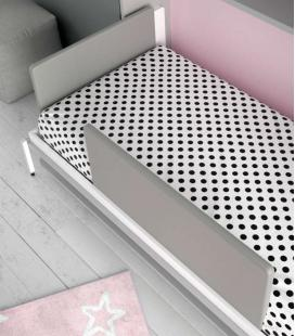 Cabezal plegable tapizado infinity